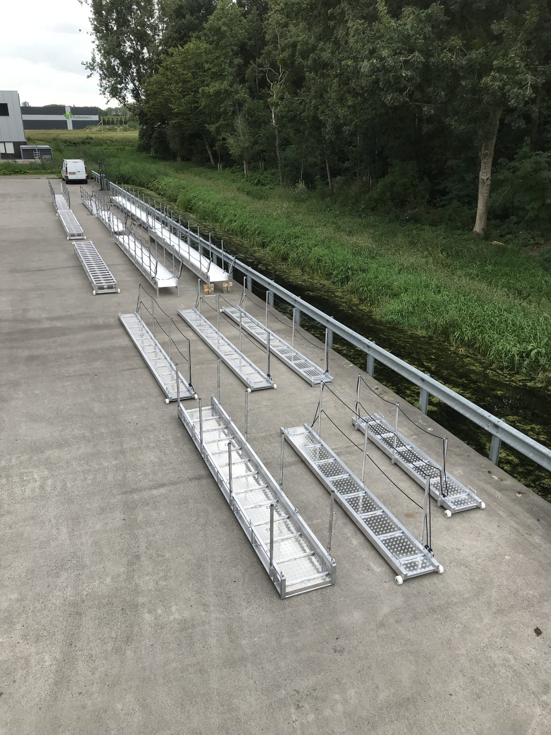 production of gangways and accommodation ladders
