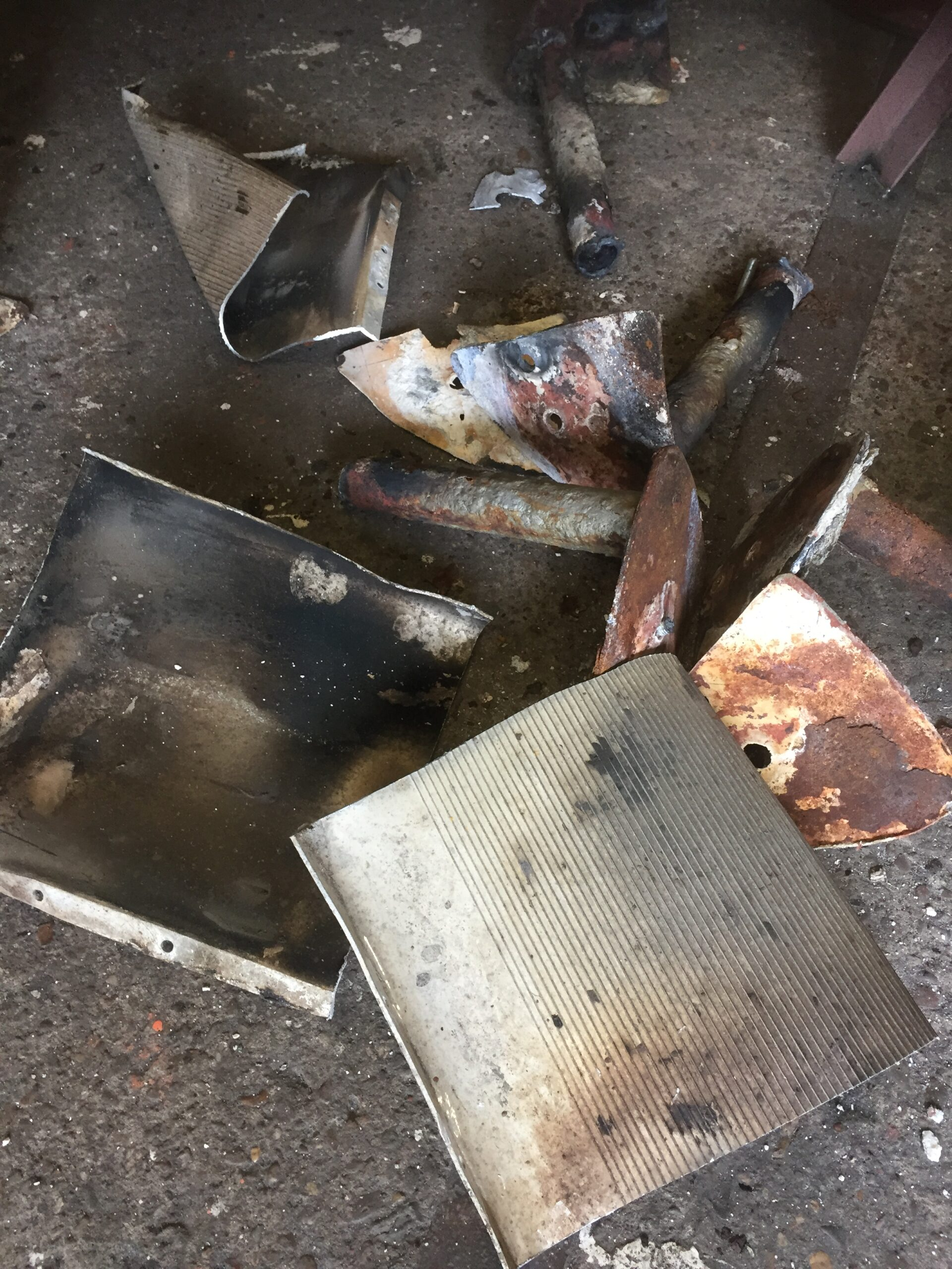damaged accommodation ladder